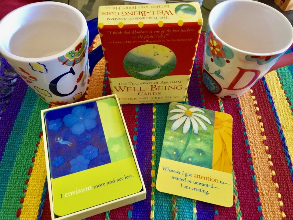 Intuitive Pathfinders | Attention | The Teachings of Abraham Well-Being Cards |
