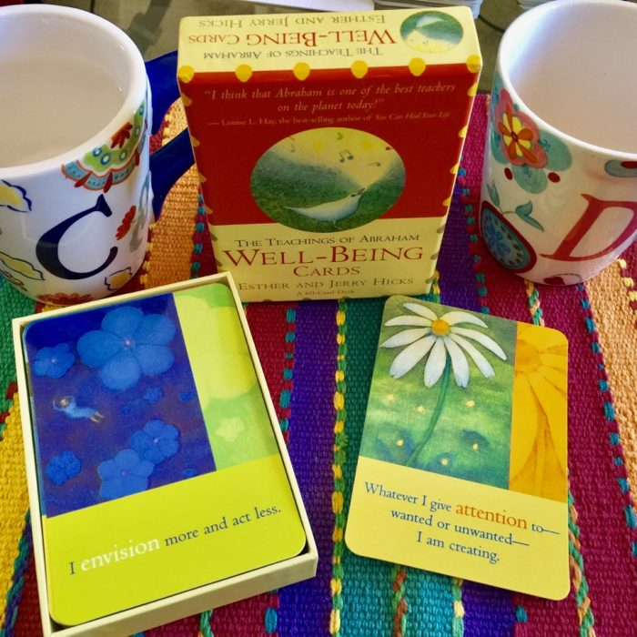 Intuitive Pathfinders | Awareness | The Teachings of Abraham Well-Being Cards |